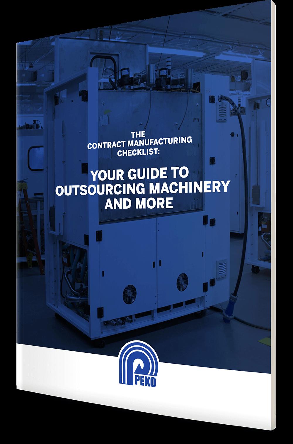 Contract Manufacturing Checklist - Peko Precision